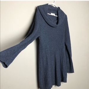 Anthropologie Angel of the North cowl neck tunic